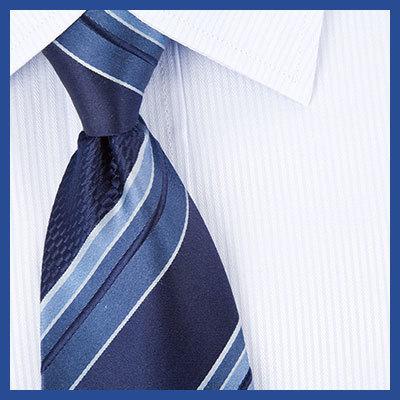 【定番】ブルー系ネクタイを使ったカラーコーディネート!③
